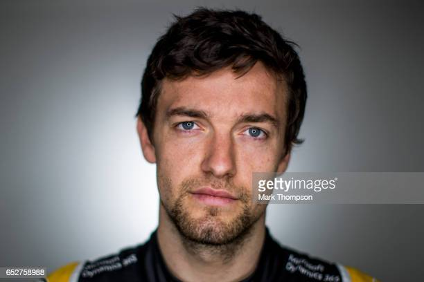 Jolyon Palmer of Great Britain and Renault Sport F1 poses for a portrait during day two of Formula One winter testing at Circuit de Catalunya on...