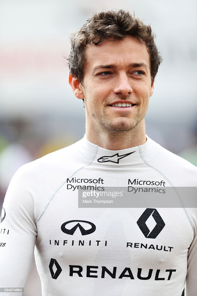 <a gi-track='captionPersonalityLinkClicked' href=/galleries/search?phrase=Jolyon+Palmer&family=editorial&specificpeople=7493068 ng-click='$event.stopPropagation()'>Jolyon Palmer</a> of Great Britain and Renault Sport F1 walks to the pits ahead of practice for the Monaco Formula One Grand Prix at Circuit de Monaco on May 26, 2016 in Monte-Carlo, Monaco.
