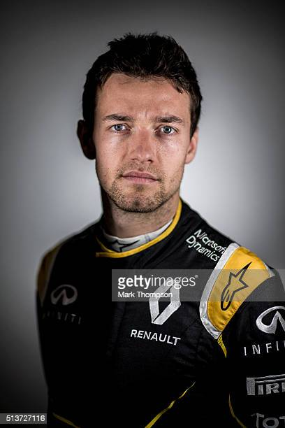 Jolyon Palmer of Great Britain and Renault Sport poses for a portrait during day two of F1 winter testing at Circuit de Catalunya on March 2 2016 in...