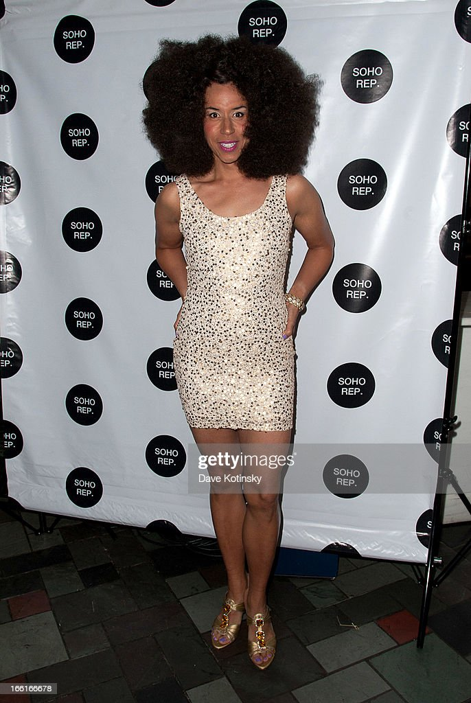 Jomama Jones attends Soho Rep's 2013 Spring Gala on April 8, 2013 in New York, United States.