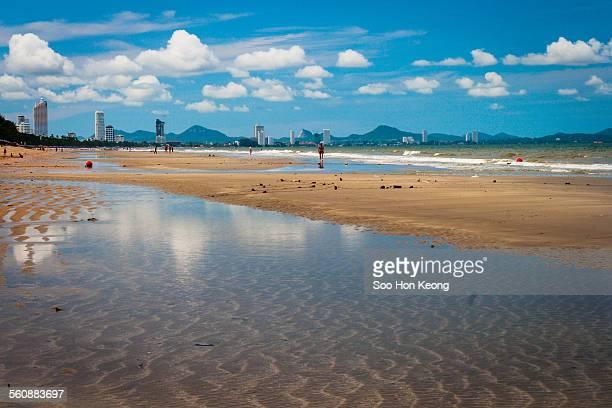 Jomtien Beach in Pattaya, Thailand