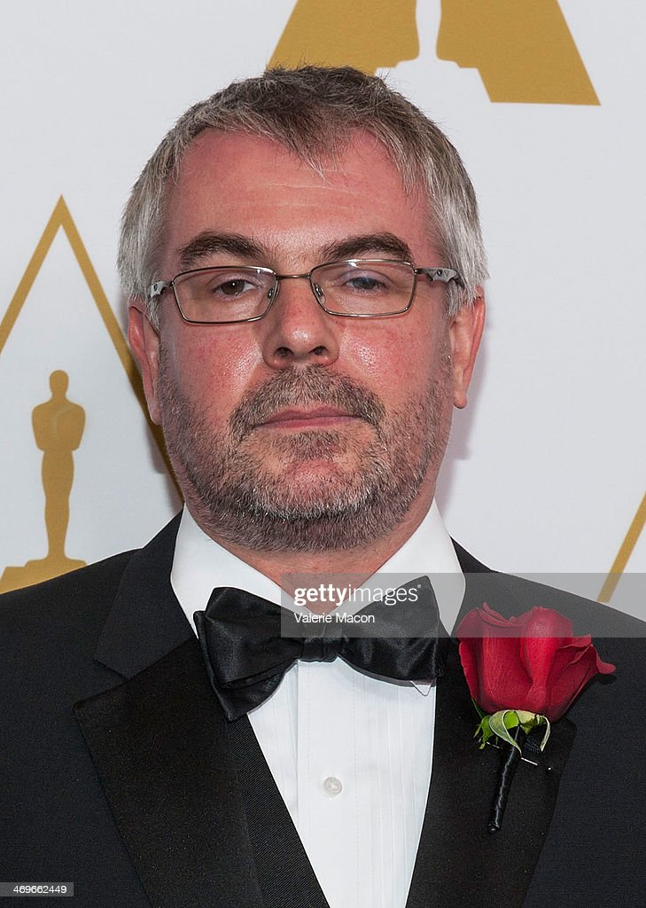 Jon Allitt arrives at the Academy Of Motion Picture Arts And Sciences' Scientific And Technical Awards Ceremony at Beverly Hills Hotel on February 15, 2014 in Beverly Hills, California.