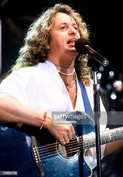 Jon Anderson and Yes perform at Shoreline Amphitheatre on July 15 1994 in Mountain View California