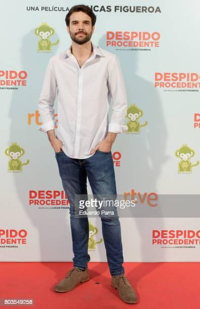Jon Arias attends the 'Despido procedente' photocall at Callao cinema on June 29 2017 in Madrid Spain