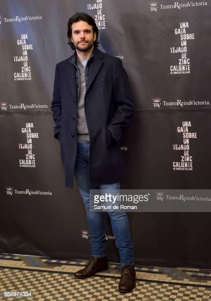 Jon Arias attends 'Una Gata Sobre Un Tejado de Zinc Caliente' Madrid Premiere on March 23 2017 in Madrid Spain