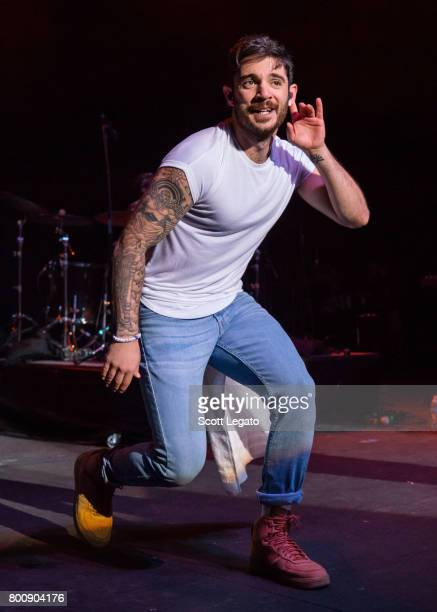 Jon Bellion performs at Michigan Lottery Amphitheatre on June 25 2017 in Sterling Heights Michigan