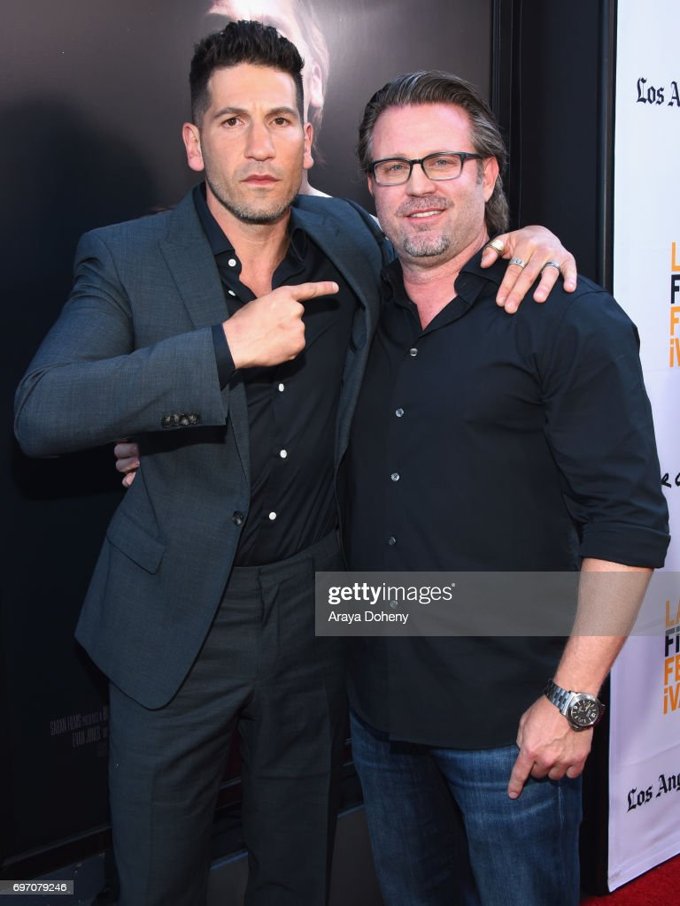 Jon Bernthal and Ric Roman Waugh attend the 'Shot Caller' Premiere during the 2017 Los Angeles Film Festival at Arclight Cinemas Culver City on June 17, 2017 in Culver City, California.