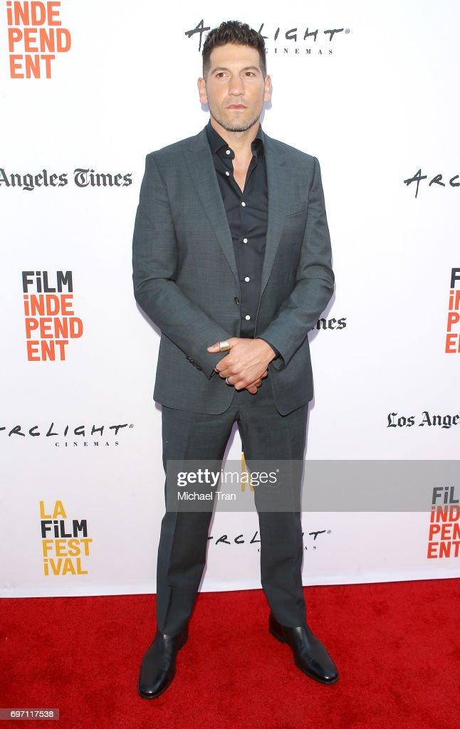 Jon Bernthal arrives at the 2017 Los Angeles Film Festival - Gala Screening of 'Shot Caller' held at Arclight Cinemas Culver City on June 17, 2017 in Culver City, California.