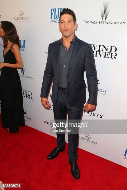 Jon Bernthal arrives at the Wind River Los Angeles Premiere Presented in Partnership with FIJI Water at Ace Hotel on July 26 2017 in Los Angeles...