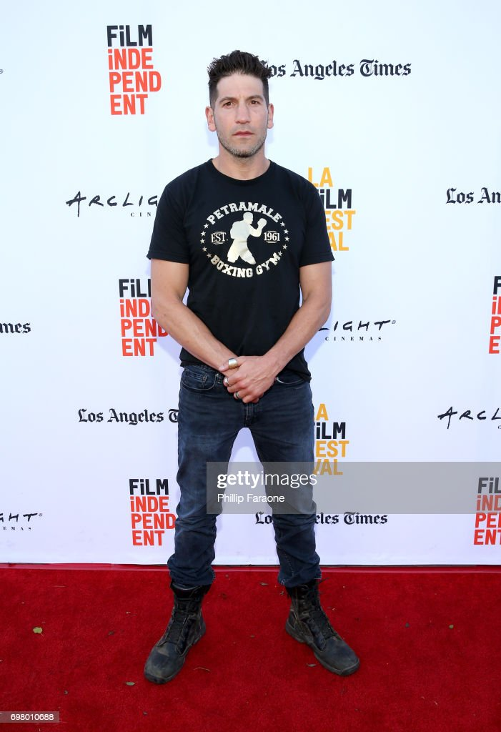 Jon Bernthal attends the screening of 'Mankiller' during the 2017 Los Angeles Film Festival at Arclight Cinemas Culver City on June 19, 2017 in Culver City, California.