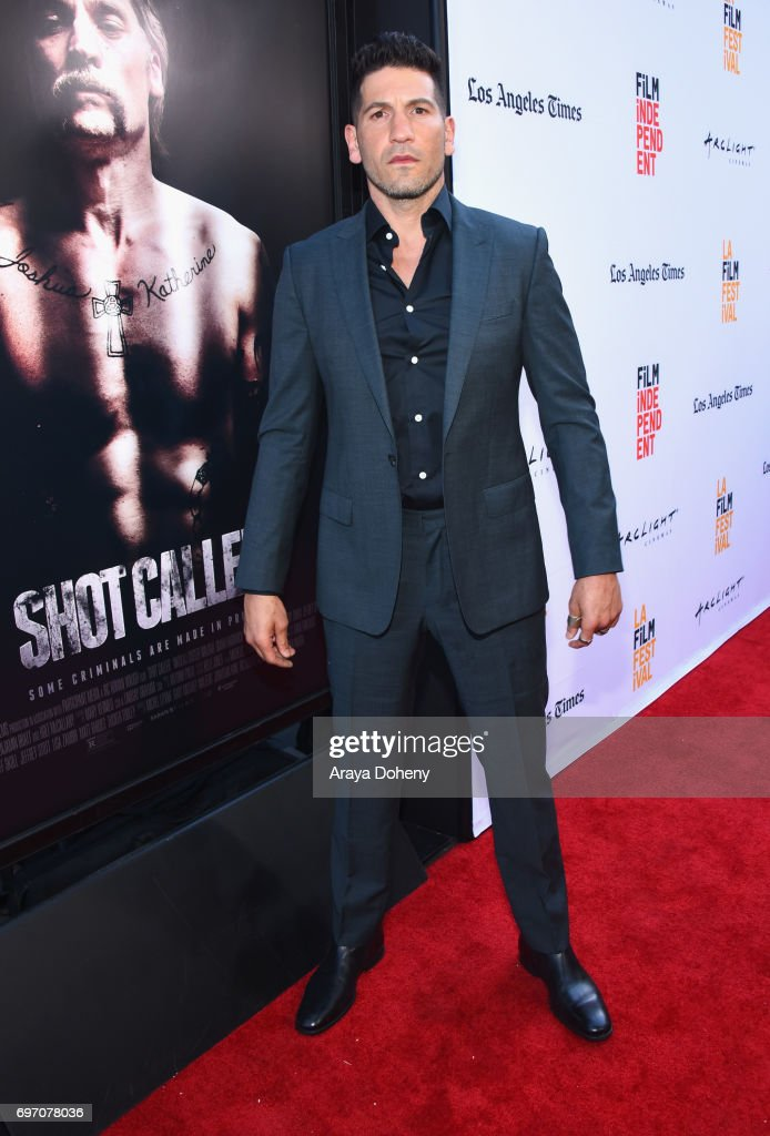 Jon Bernthal attends the 'Shot Caller' Premiere during the 2017 Los Angeles Film Festival at Arclight Cinemas Culver City on June 17, 2017 in Culver City, California.