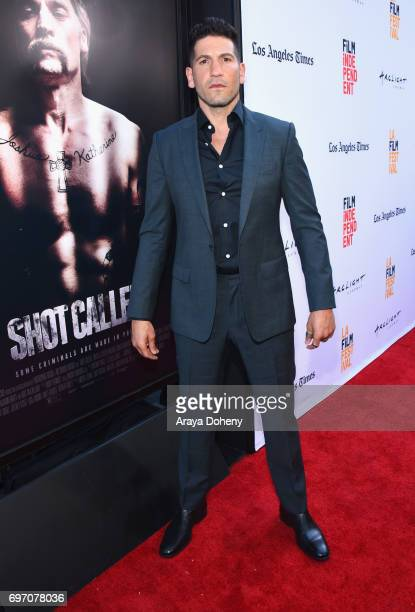 Jon Bernthal attends the 'Shot Caller' Premiere during the 2017 Los Angeles Film Festival at Arclight Cinemas Culver City on June 17 2017 in Culver...