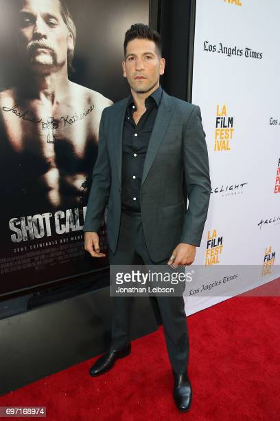 Jon Bernthal attends theATT And Saban Films Present The LAFF Gala Premiere Of Shot Caller at ArcLight Cinemas on June 17 2017 in Culver City...