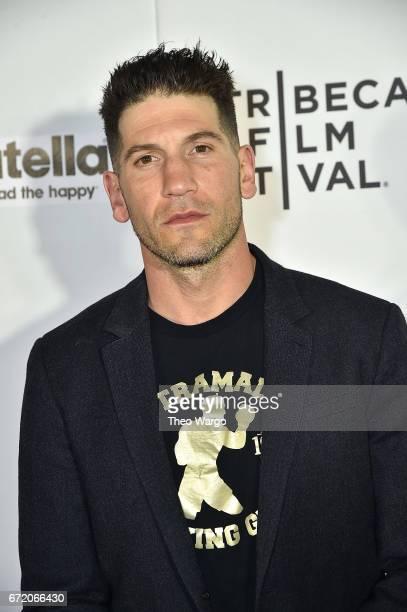 Jon Bernthal attneds 'Pilgrimage' Premiere 2017 Tribeca Film Festival at Regal Battery Park Cinemas on April 23 2017 in New York City