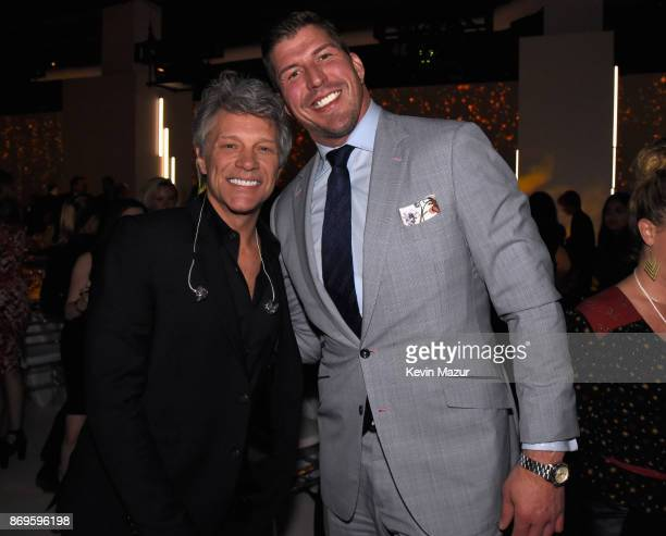 Jon Bon Jovi and David Diehl attend the Samsung annual charity gala 2017 at Skylight Clarkson Sq on November 2 2017 in New York City