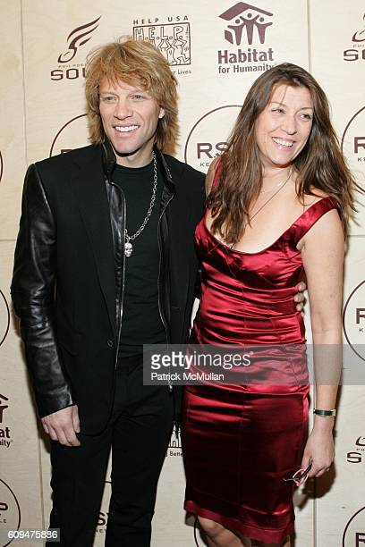 Jon Bon Jovi and Dorothea Bon Jovi attend Jon Bon Jovi and Kenneth Cole Team Up For An Unforgettable Night of Fundraising At 'RSVP To Help' at...