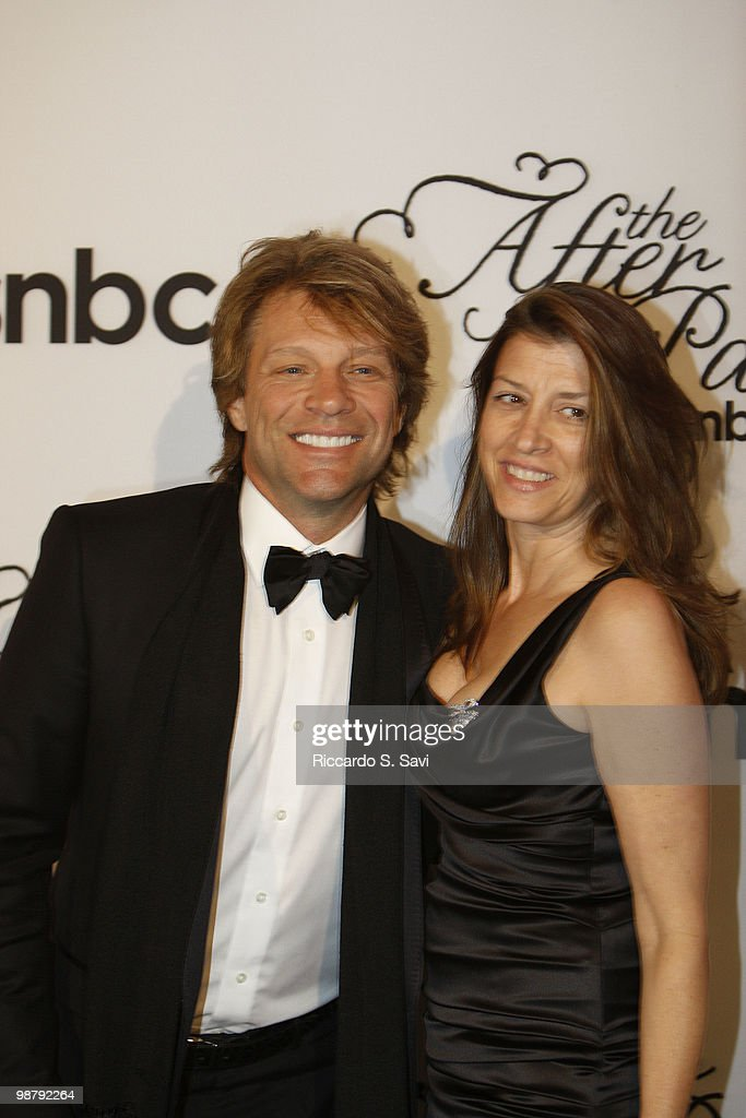 Jon Bon Jovi and Dorothea Hurley attend the 2010 MSNBC White House Correspondents Dinner After Party at the Andrew W. Mellon Auditorium on May 1, 2010 in Washington, DC.