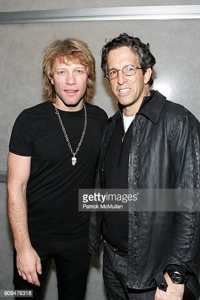 Jon Bon Jovi and Kenneth Cole attend Jon Bon Jovi and Kenneth Cole Team Up For An Unforgettable Night of Fundraising At 'RSVP To Help' at Tribeca...