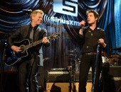 Jon Bon Jovi and Train perform at 'Howard Stern's Birthday Bash' presented by SiriusXM produced by Howard Stern Productions at Hammerstein Ballroom...