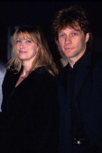Jon Bon Jovi and wife Dorothea during The 1998 Brit Awards at London in London United Kingdom