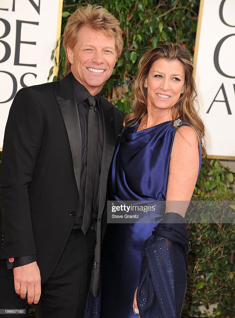 Jon Bon Jovi arrives at the 70th Annual Golden Globe Awards at The Beverly Hilton Hotel on January 13, 2013 in Beverly Hills, California.