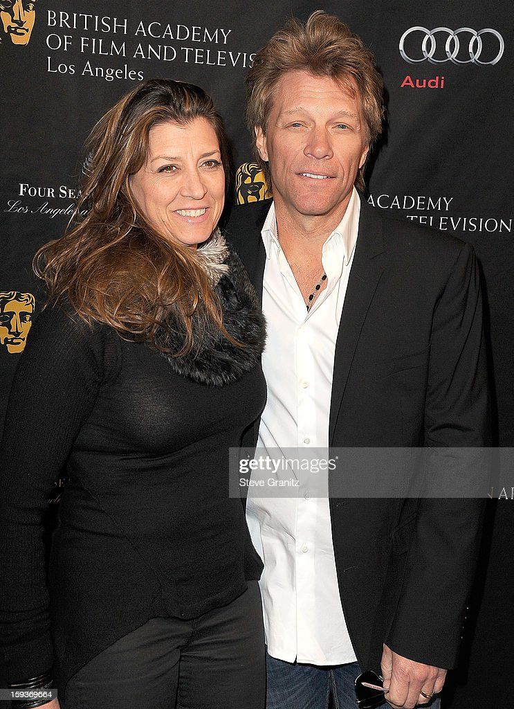 Jon Bon Jovi arrives at the BAFTA Los Angeles 2013 Awards Season Tea Party at Four Seasons Hotel Los Angeles at Beverly Hills on January 12, 2013 in Beverly Hills, California.