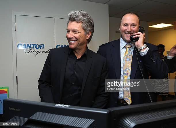 Jon Bon Jovi attend Annual Charity Day Hosted By Cantor Fitzgerald nd BGC at Cantor Fitzgerald on September 11 2014 in New York City