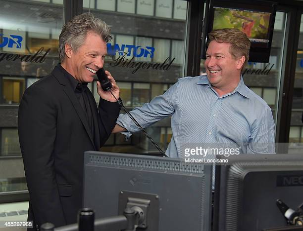 Jon Bon Jovi attends Annual Charity Day Hosted By Cantor Fitzgerald nd BGC at Cantor Fitzgerald on September 11 2014 in New York City
