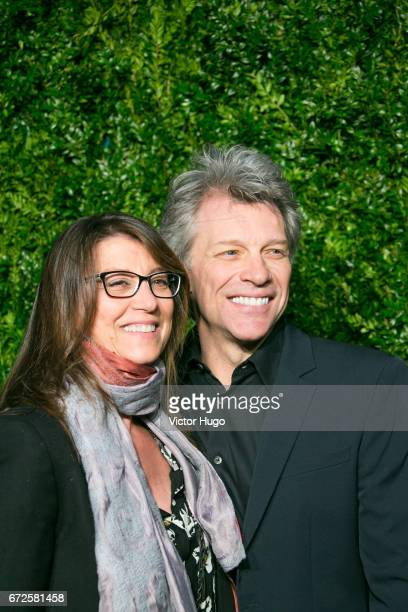 Jon Bon Jovi attends CHANEL Tribeca Artists Dinner at Balthazer on April 24 2017 in New York City