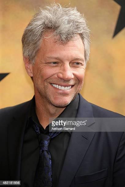 Jon Bon Jovi attends 'Hamilton' Broadway Opening Night at Richard Rodgers Theatre on August 6 2015 in New York City