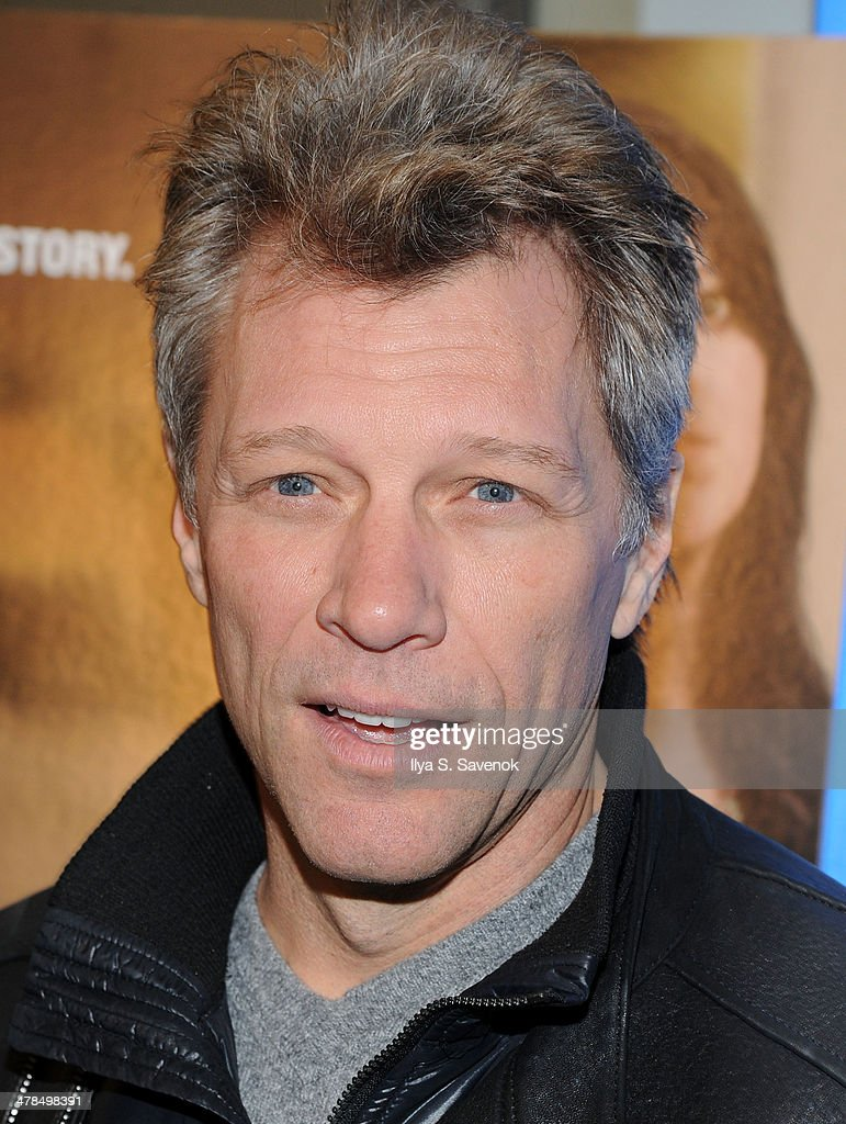 <a gi-track='captionPersonalityLinkClicked' href=/galleries/search?phrase=Jon+Bon+Jovi&family=editorial&specificpeople=201527 ng-click='$event.stopPropagation()'>Jon Bon Jovi</a> attends 'Paycheck To Paycheck: The Life And Times Of Katrina Gilbert' New York Premiere at HBO Theater on March 13, 2014 in New York City.