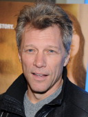 Jon Bon Jovi attends 'Paycheck To Paycheck The Life And Times Of Katrina Gilbert' New York Premiere at HBO Theater on March 13 2014 in New York City