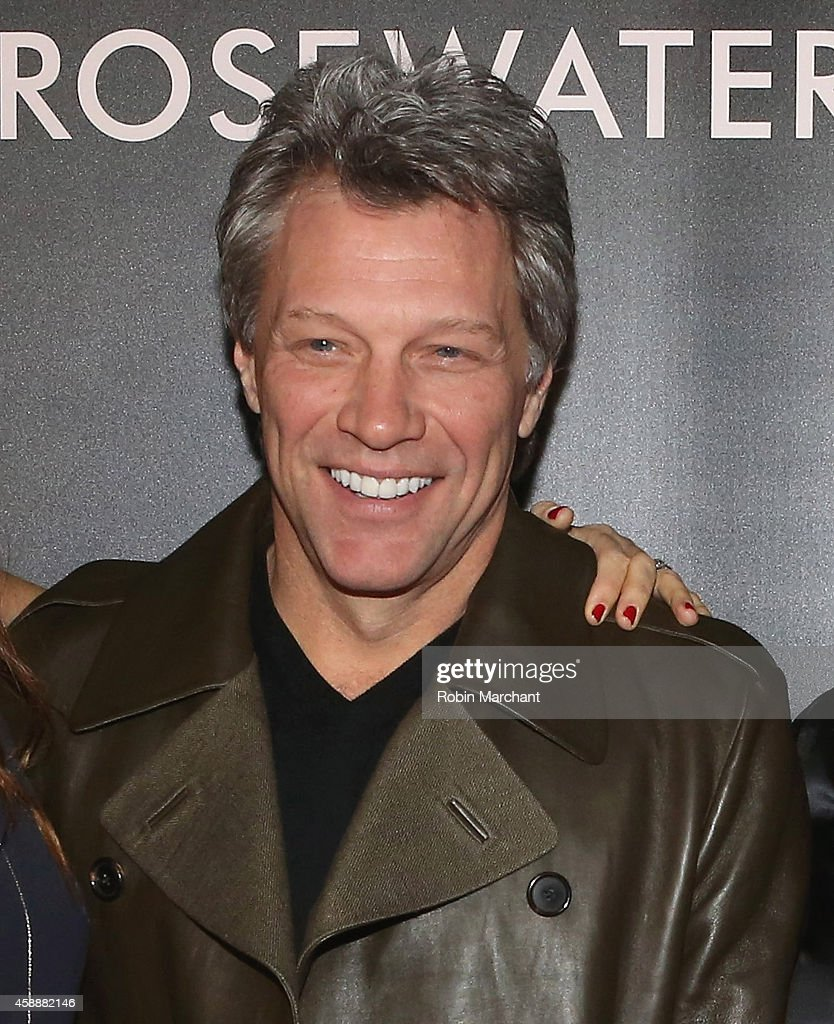 Jon Bon Jovi attends 'Rosewater' New York Premiere at AMC Lincoln Square Theater on November 12, 2014 in New York City.