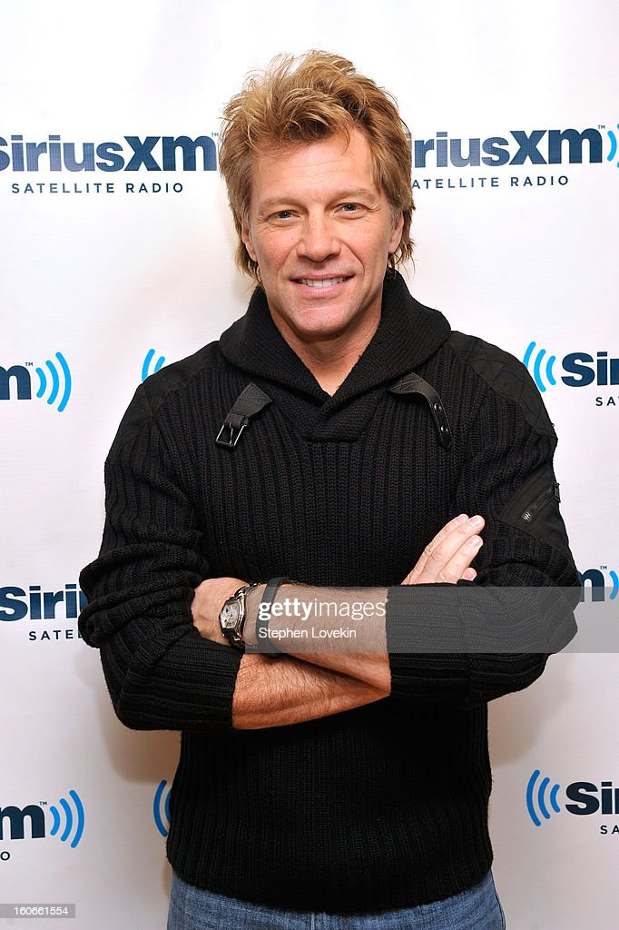 <a gi-track='captionPersonalityLinkClicked' href=/galleries/search?phrase=Jon+Bon+Jovi&family=editorial&specificpeople=201527 ng-click='$event.stopPropagation()'>Jon Bon Jovi</a> attends 'SiriusXM's Town Hall with <a gi-track='captionPersonalityLinkClicked' href=/galleries/search?phrase=Jon+Bon+Jovi&family=editorial&specificpeople=201527 ng-click='$event.stopPropagation()'>Jon Bon Jovi</a>' and moderator Savannah Guthrie at the SiriusXM studios on February 4, 2013 in New York City.