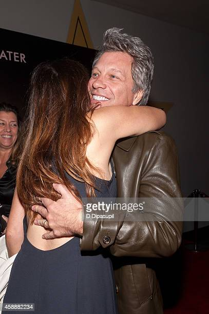 Jon Bon Jovi attends the 'Rosewater' New York Premiere at AMC Lincoln Square Theater on November 12 2014 in New York City