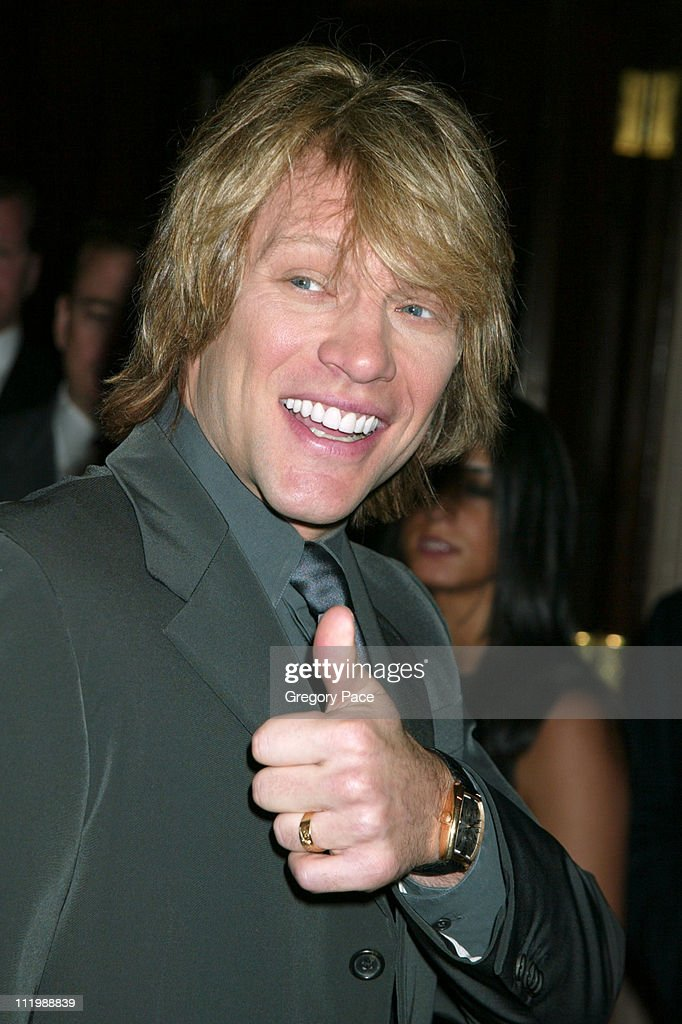 Jon Bon Jovi during 'A Funny Thing Happened on the Way to Cure Parkinson's' - A Benefit Evening for the Michael J. Fox Foundation for Parkinson's Research at The Waldorf Astoria in New York City, New York, United States.