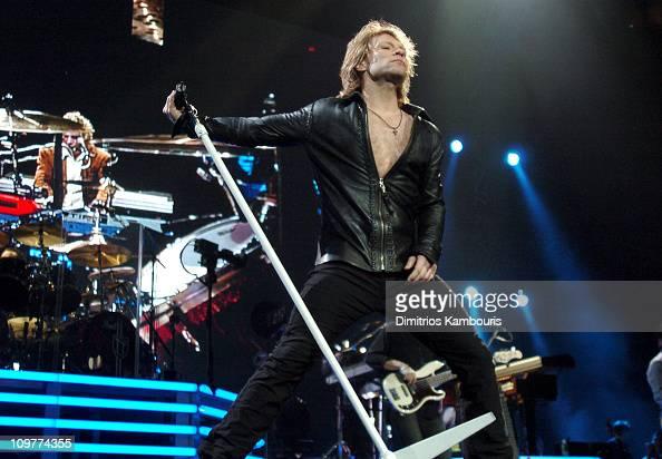 Bon Jovi In Concert At Madison Square Garden In New York
