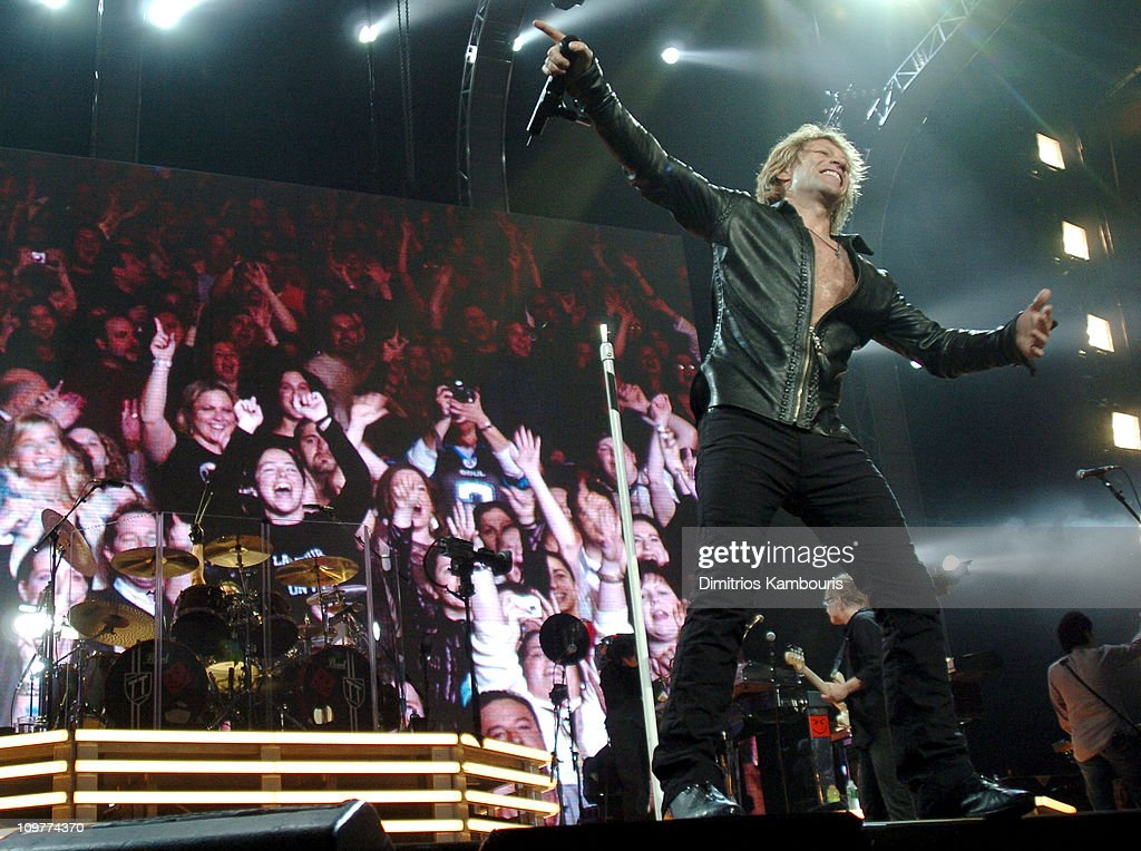 Bon Jovi in Concert at Madison Square Garden in New York City