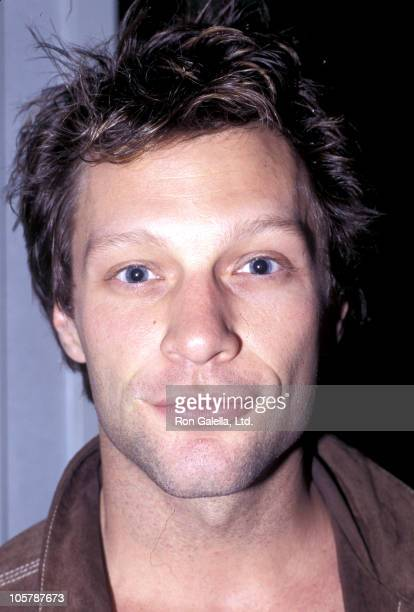 Jon Bon Jovi during 'Elmo Saves Christmas' New York Premiere October 24 1996 at Sony Lincoln Square in New York City New York United States