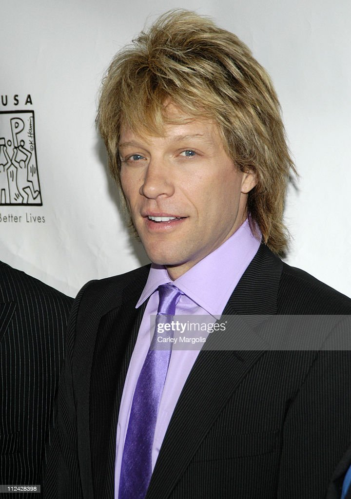 Jon Bon Jovi during Help USA Celebrates 20 Years at the 'Help USA Tribute Awards Dinner' Honoring Martin Scorsese and Jon Bon Jovi at Gotham Hall in New York City, New York, United States.
