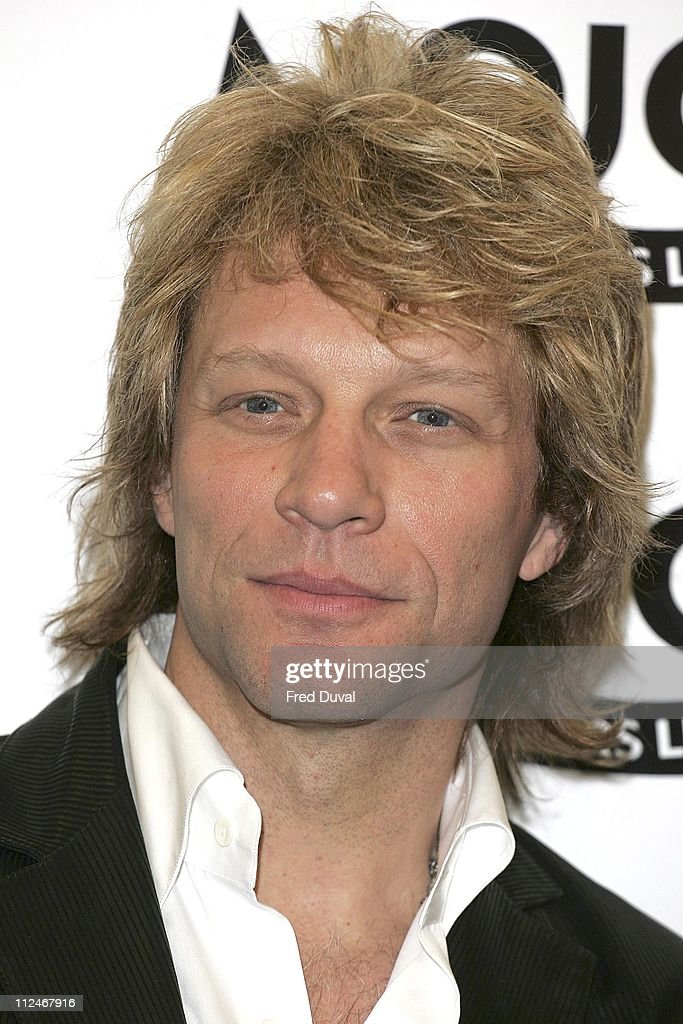 <a gi-track='captionPersonalityLinkClicked' href=/galleries/search?phrase=Jon+Bon+Jovi&family=editorial&specificpeople=201527 ng-click='$event.stopPropagation()'>Jon <a gi-track='captionPersonalityLinkClicked' href=/galleries/search?phrase=Bon+Jovi+-+Band&family=editorial&specificpeople=579991 ng-click='$event.stopPropagation()'>Bon Jovi</a></a> during Mojo Honours List 2006 - Press Room at Shoreditch Town Hall in London, Great Britain.