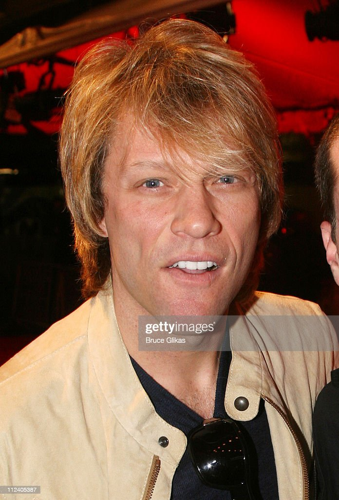 <a gi-track='captionPersonalityLinkClicked' href=/galleries/search?phrase=Jon+Bon+Jovi&family=editorial&specificpeople=201527 ng-click='$event.stopPropagation()'>Jon <a gi-track='captionPersonalityLinkClicked' href=/galleries/search?phrase=Bon+Jovi+-+Band&family=editorial&specificpeople=579991 ng-click='$event.stopPropagation()'>Bon Jovi</a></a> during 'Rent' Celebrates 10th Anniversary on Broadway - April 24, 2006 at The Nederlander Theater in New York, New York, United States.