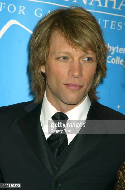 Jon Bon Jovi during The Entertainment Industry Foundation's 2nd Hollywood Hits Broadway Benefit Gala for Colon Cancer Arrivals at Queen Mary 2 in New...