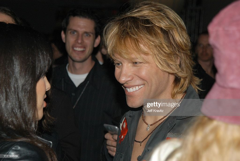 Jon Bon Jovi during VH1 Big in 2002 Awards - After Party at Grand Olympic Auditorium in Los Angeles, CA, United States.