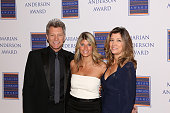 Jon Bon Jovi Nina Tinari board chair of the Marian Anderson Award and Dorothea Bon Jovi attend the 2014 Marian Anderson Awards Gala Honoring Jon Bon...