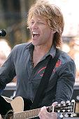 Jon Bon Jovi of Bon Jovi during Bon Jovi performs at NBC's Today Show Summer Concert Series June 19 2007 at Rockefeller Center in New York City New...