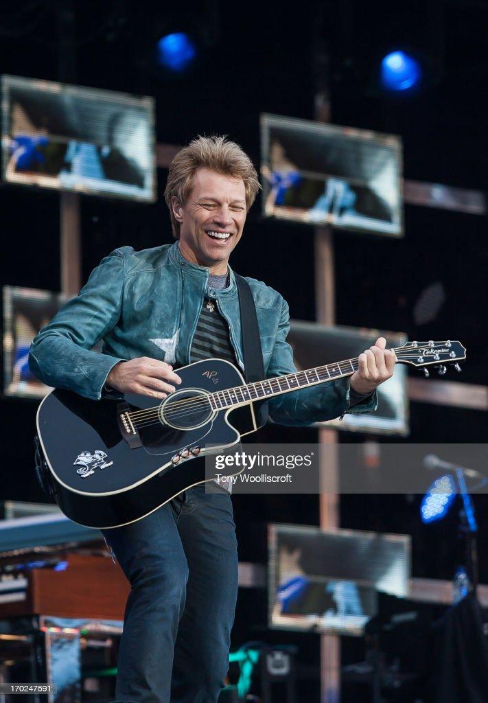 <a gi-track='captionPersonalityLinkClicked' href=/galleries/search?phrase=Jon+Bon+Jovi&family=editorial&specificpeople=201527 ng-click='$event.stopPropagation()'>Jon Bon Jovi</a> of Bon Jovi performs at Villa Park on June 9, 2013 in Birmingham, England.