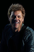 Jon Bon Jovi of Bon Jovi performs live for fans at Etihad Stadium on the first show of his 2013 Australian Tour on December 7 2013 in Melbourne...