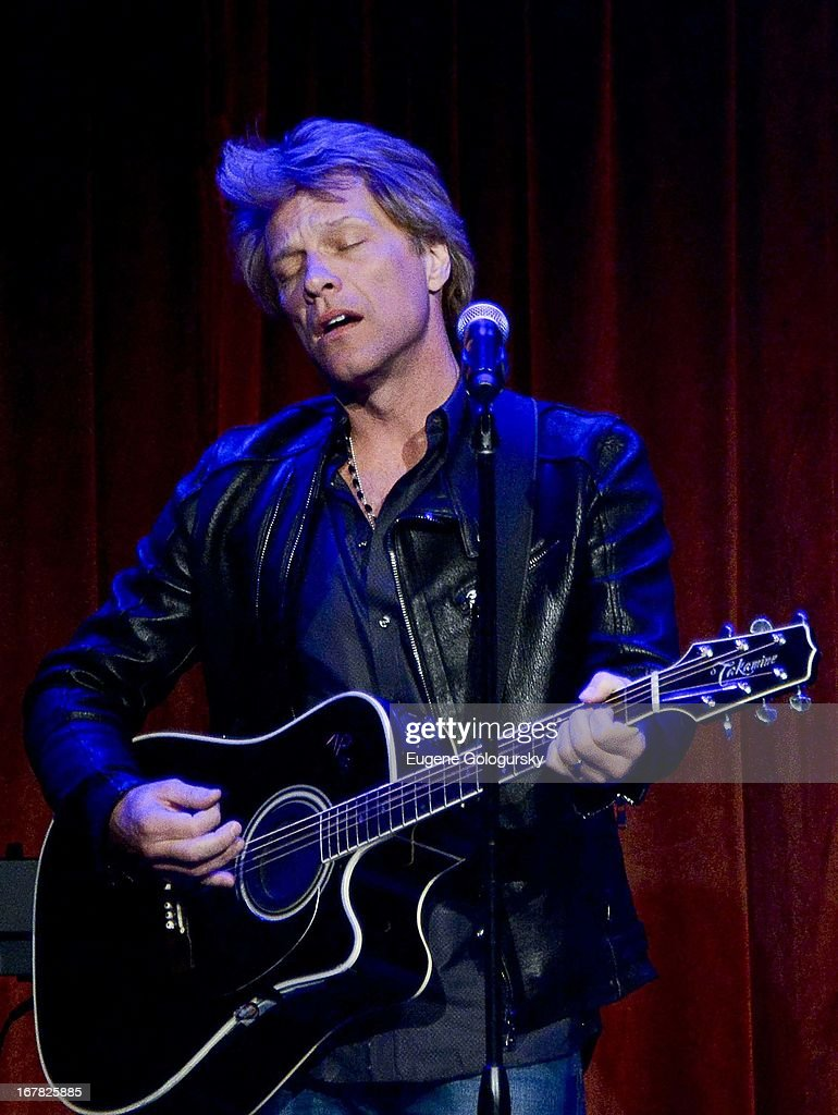 <a gi-track='captionPersonalityLinkClicked' href=/galleries/search?phrase=Jon+Bon+Jovi&family=editorial&specificpeople=201527 ng-click='$event.stopPropagation()'>Jon Bon Jovi</a> performs at the 2013 Food Bank For New York City Can Do Awards at Cipriani Wall Street on April 30, 2013 in New York City.