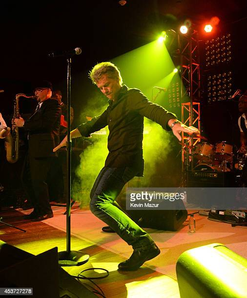 Jon Bon Jovi performs onstage at Apollo in the Hamptons at The Creeks on August 16 2014 in East Hampton New York